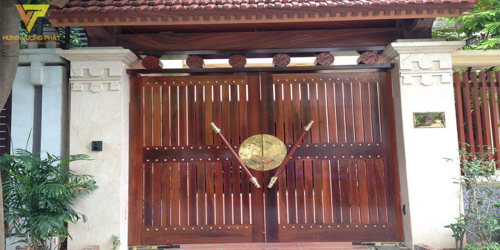 Dự án cổng nhà anh Nam BT8 khu đô thị Dịch Vọng