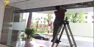 Dự án sửa chữa cửa tự động bệnh viện 108