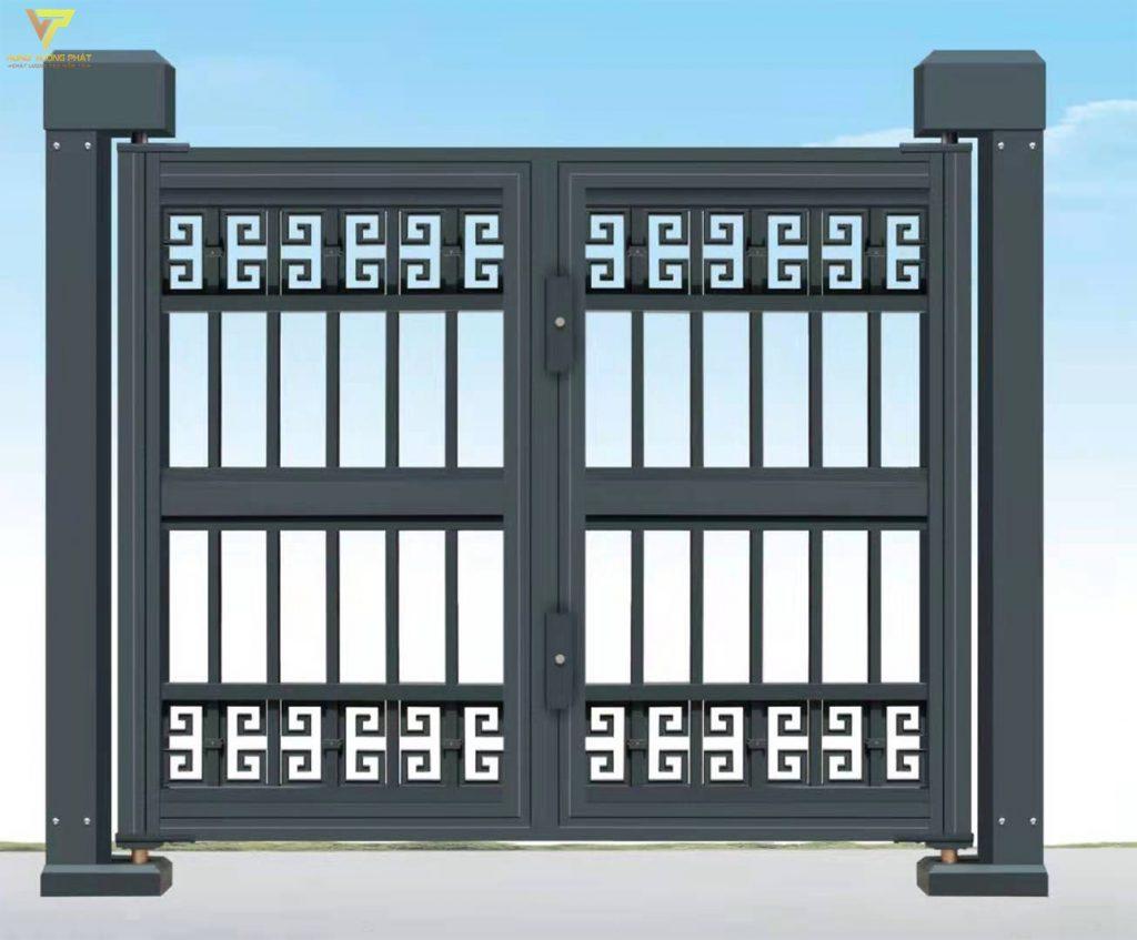 Hình ảnh chiếc cổng hai cánh