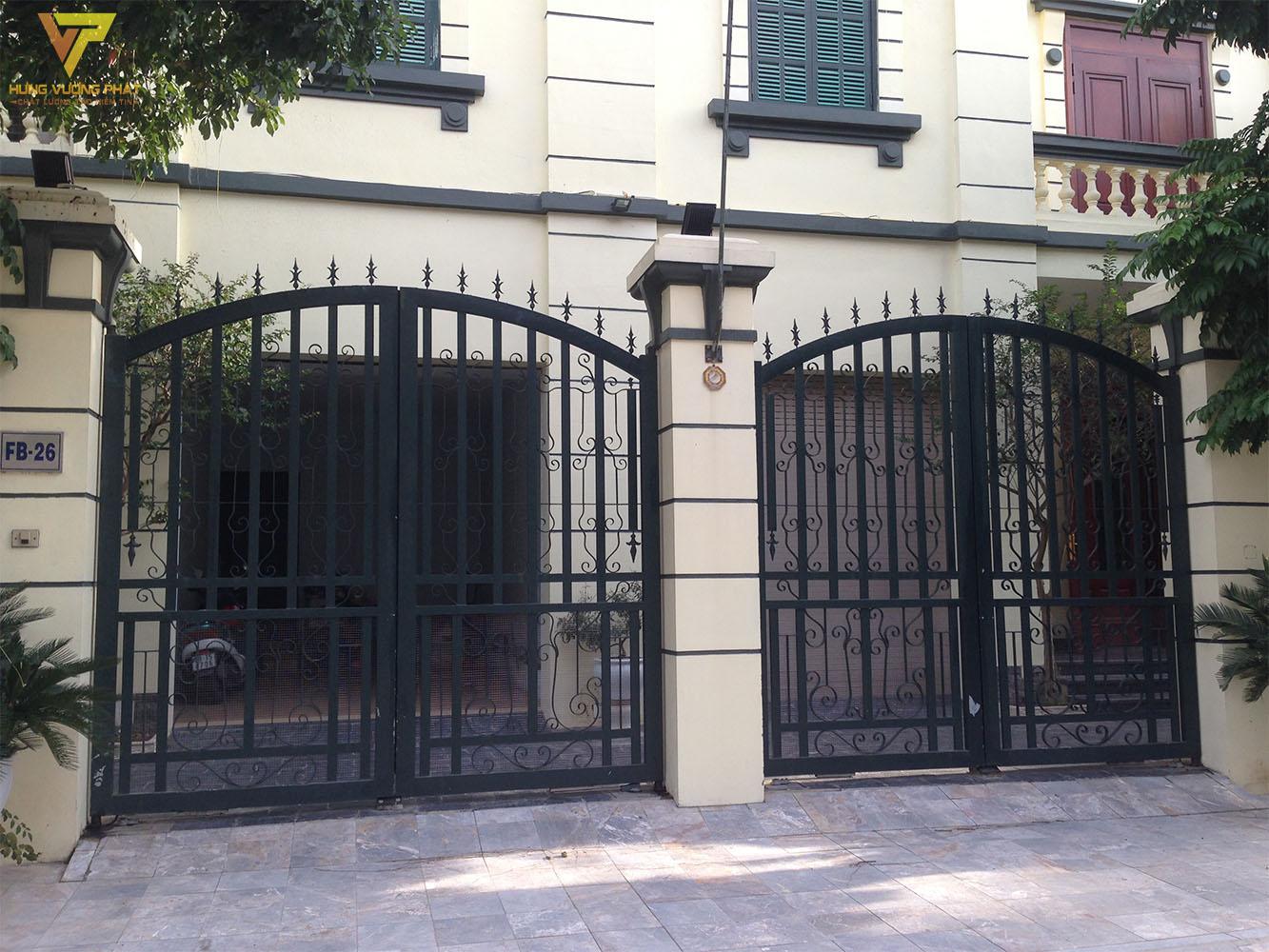 Ảnh cổng của ngôi nhà