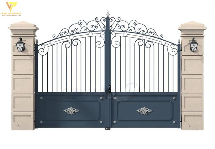 Mẫu cổng sắt đẹp