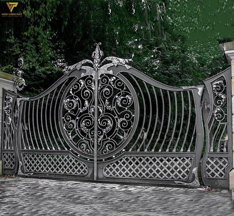 Hình ảnh cổng sắt
