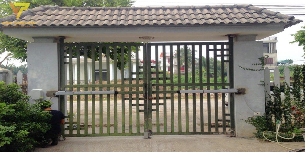 Dự án lắp cổng tự động nhà anh Quang