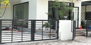 Dự án cổng nhà chị Thủy Gamuda