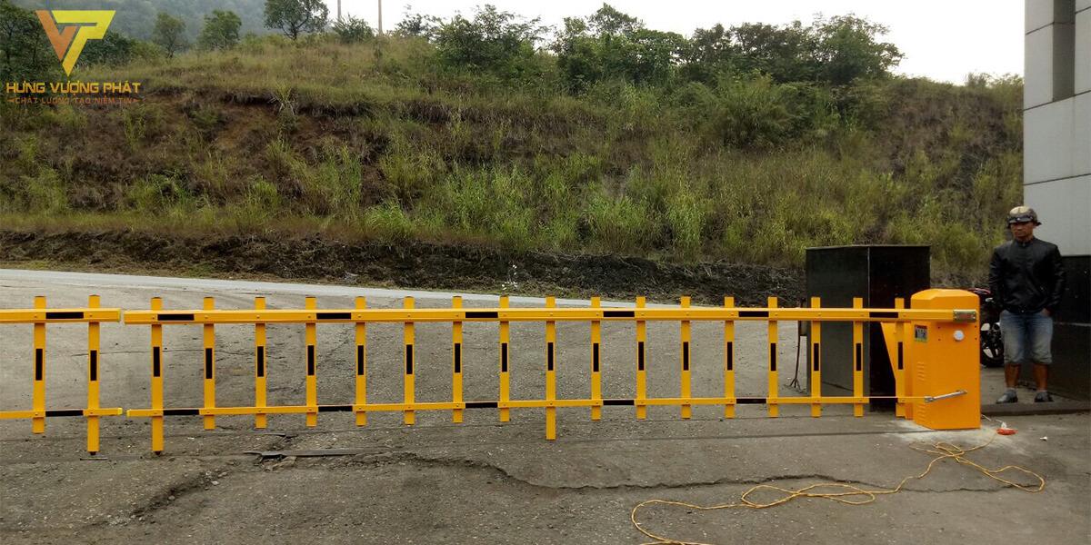 Lắp barie tự động công ty than Hải Phòng