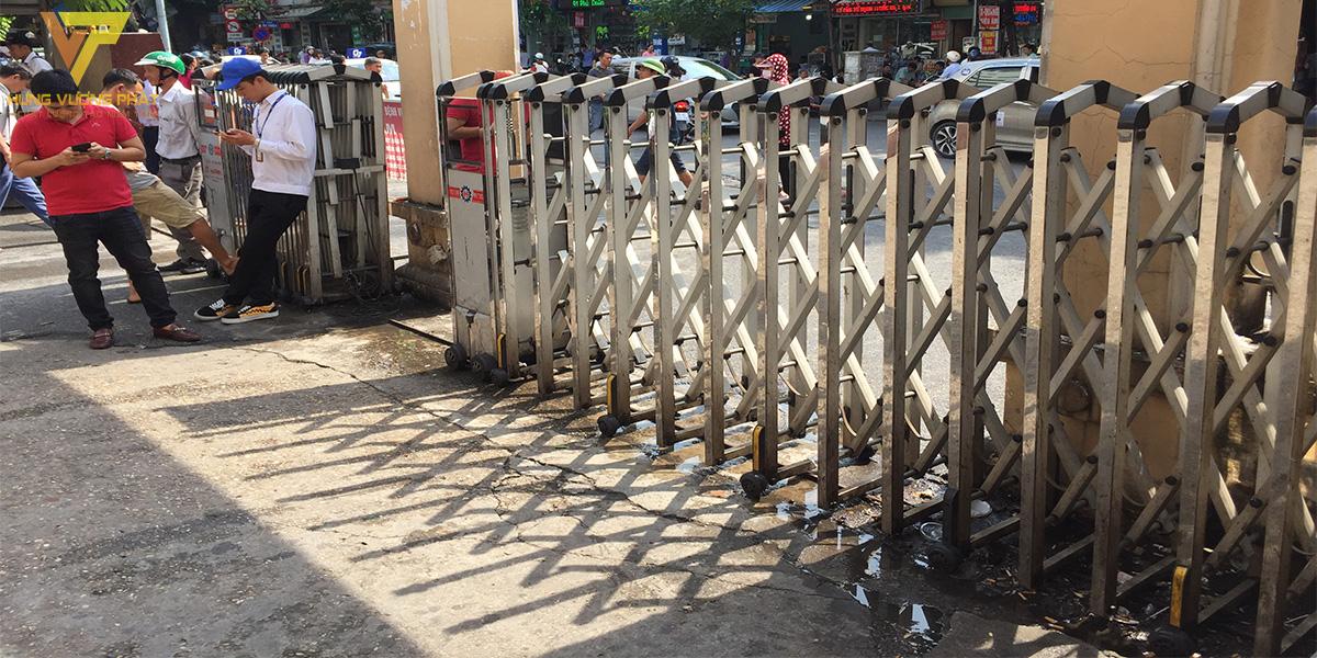 Dự án sửa chữa cổng xếp bệnh viện Việt Đức