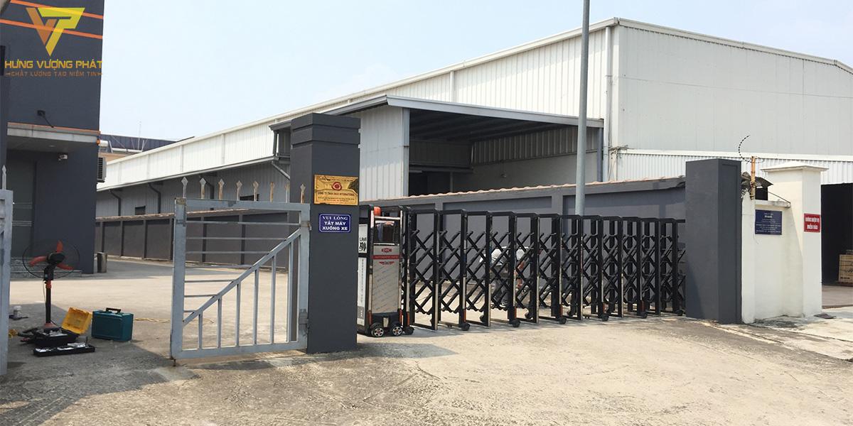 Dự án sửa chữa cổng xếp Tâm Hoài Đức