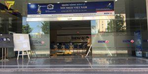 Dự án sửa chữa cửa tự động ngân hàng BIDV số 2 Phạm Hùng