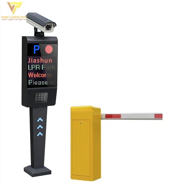 Barie tự động và máy quét nhận diện