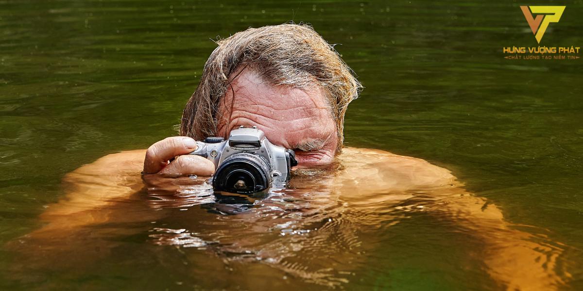 Camera đạt chuẩn Ip68 có thể sử dụng để chụp hình dưới nước