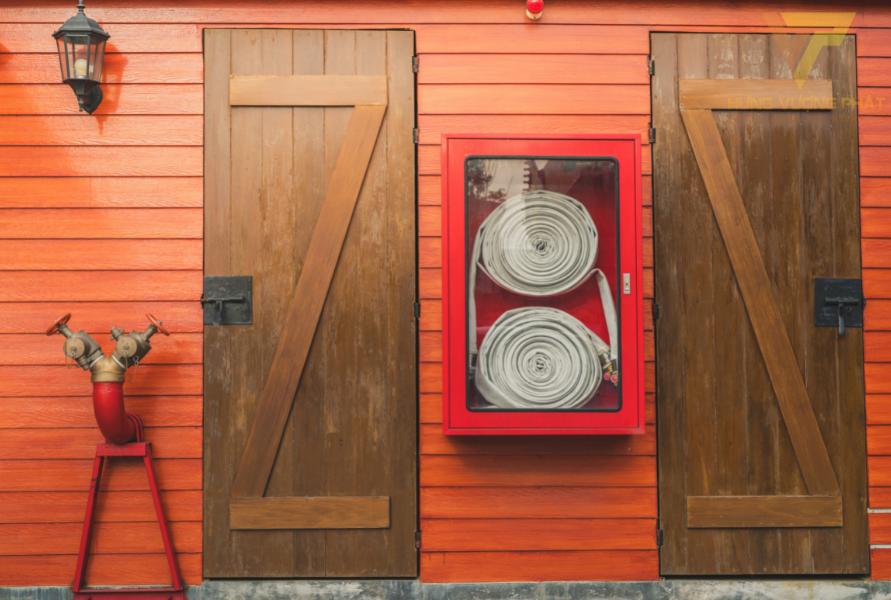Cửa gỗ chống cháy là cửa gỗ công nghiệp