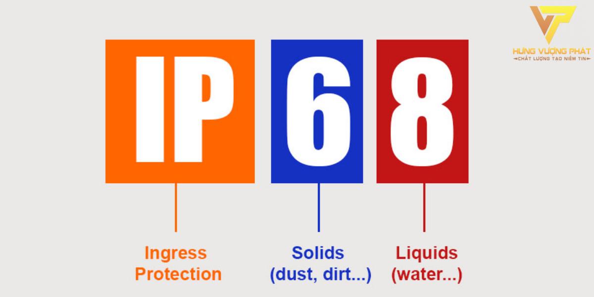 Tiêu chuẩn Ip68 chính là thông số trên các thiết bị cho chúng ta biết rằng thiết bị đó có khả năng chống lại bụi bẩn ở mức 6, là mức cao nhất trong chuẩn Ip.