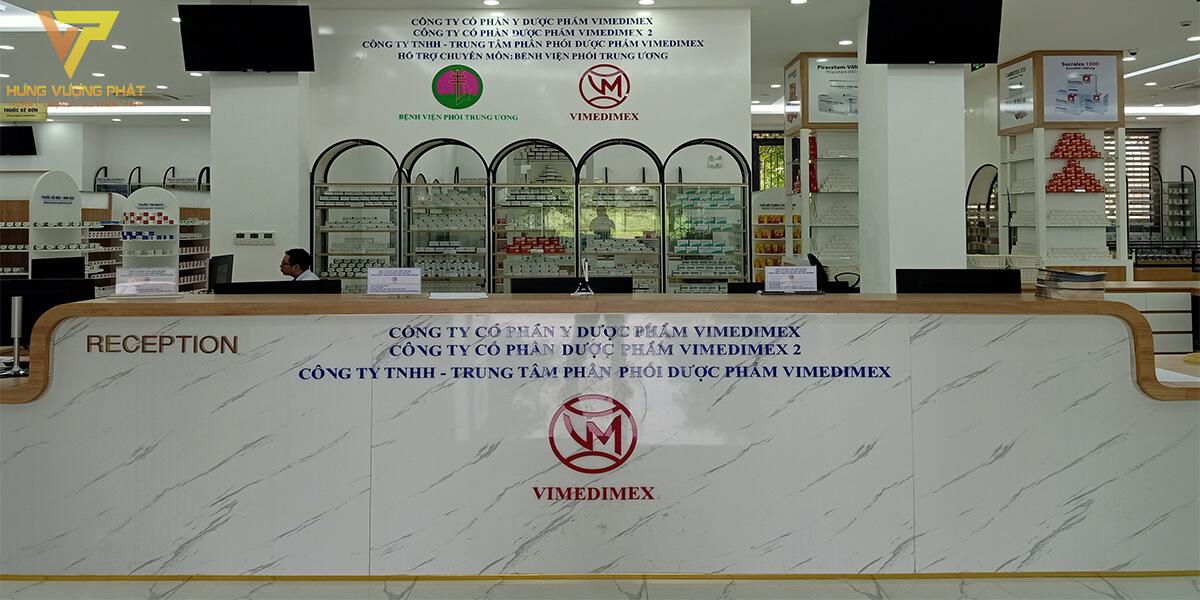 Lắp cửa lùa tự động cho Trung tâm thuốc VIMEDIMEX Mễ Trì