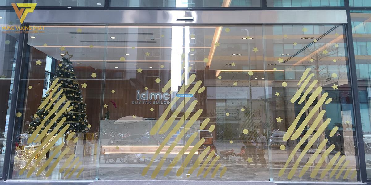 Lắp cửa trượt tự động ra vào cho Tòa nhà văn phòng 21 Duy Tân