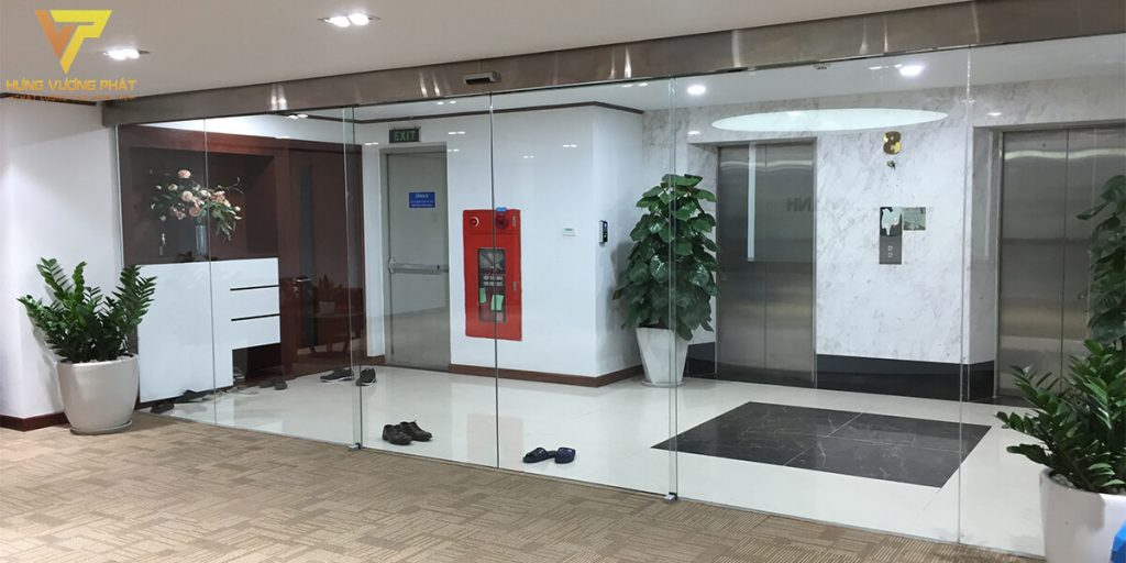 Lắp đặt tự động trượt cho Trụ sở văn phòng Tân Đại Thành