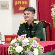 Ông Nguyễn Đức Thiện phòng Hậu Cần Bệnh viện trung ương quân đội 108 (Khách hàng lắp cửa Cửa tự động tại nhà điều hành bệnh viện 108 )
